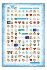 Frozen Told By Emojis Poster New - Maxi Size 61 x 91.5cm