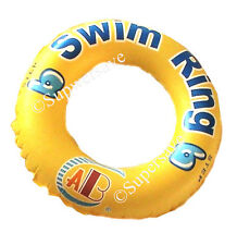 Delux inflatable kick board float swimming aids pool kids training floating ring