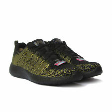 Scarpe Skechers Energy Burst Running 12438 bkgd Donna Black Gold