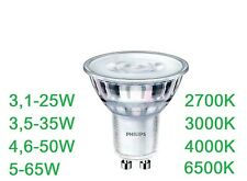 PHILIPS LED Spot GU10 LED Strahler 3,5W 5W 6,5W LED GU10 SPOT Halogenspot 36D