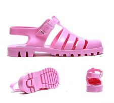 Womens JuJu Jellies Maxi T-Bar Flamingo Sandals RRP £22.99