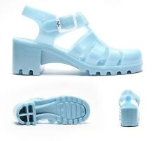 Womens JuJu Jellies Babe High Turquoise Sandals RRP £24.99