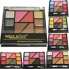Professional Make UP Miss Rose Eye Shadow Blusher Eyebrow Powder Brush 6 Color
