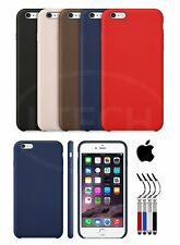 Apple iPhone 6S - Leather Hard Back Case with SP & Retractable Pen