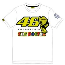 Official VR46 Valentino Rossi MotoGP The Doctor Tee T-Shirt - White