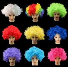 Afro Wigs Party Wigs Malinga Wigs Clown Wig Funny Wigs Rainbow Mohawk Wig India