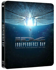 INDEPENDENCE DAY - STEELBOOK EDITION (2 BLU-RAY - RIMASTERIZZATO) Will Smith