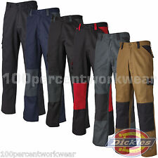 Dickies Everyday 24-7 Cargo Combat Mens Work Trousers Pants Knee Pad Pockets New