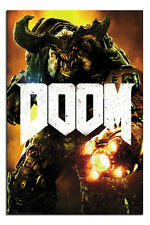 Doom Cyber Demon Poster New - Maxi Size 36 x 24 Inch