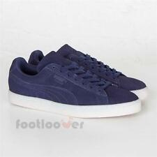 Scarpe Puma Suede Classic Colored 360850 01 Uomo Navy White Special Edition