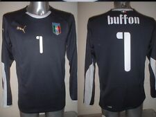 Italy BUFFON Puma M L XL BNWT New Shirt Jersey Football Soccer Maglia Trikot Top