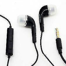 YL Headset Headphones Earphone for Samsung S4 Note 3 2 Grand Tab+White/Black