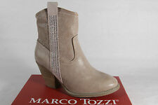 Marco Tozzi Boots, Ankle Boots, Boots Faux leather beige, zipper new