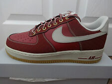 Nike Air Force 1 mens trainers sneakers Team red/beige 488298 625 new+ box
