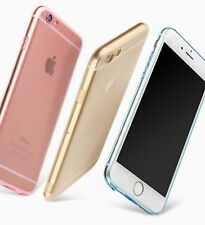 Camera Lens Protector Thin Gold Soft Silicone Apple iPhone 6 6s 6/6S Plus Case