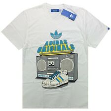 Adidas Originals Men's Superstar Boom Box Retro Style T-Shirt | Z05716