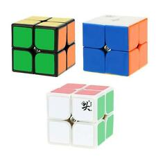 Dayan Zhanchi 2*2 Magic Cube Speed Cubo Anti-POP Plastics Stickerless 50MM H2Q2