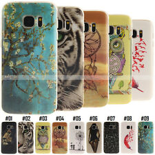 Cute Gel Soft Case Protective Silicone Back Cover TPU Rubber Skin For Samsung