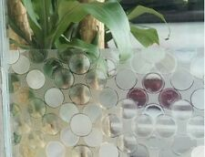 3D Reflective Etched Frosted Static Decorative Vinyl Privacy Window Film