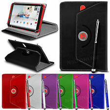 """360° Rotating PU Leather Tablet Stand Case Cover for AMAZON Fire 7"""""""