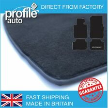 Car Mats Bmw 1 Series Hatch F20 2011 On Black Fully Tailored  Rubber Carpet