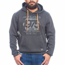 Jack & Jones Hoody Mathew Sweat 12071327 grey Pullover Kapuze Hoodie Sweatshirt