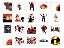 the incredibles Iron on T Shirt heat diy Transfer free postage