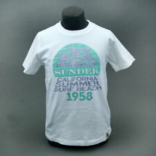 Sundek T-SHIRT JUNIOR SUNDEK 1958 Bianco mod. DELL-001