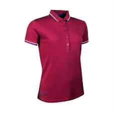 GLENMUIR LADIES TWO COLOUR TIPPED POLO SHIRT VEGAS
