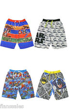 DC Comics Boys Kids Childrens Swim Shorts Trunks Swimwear Ages 4 to 11 Avengers