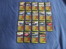 REF12:TOP TRUMPS:GUMBALL 3000 SUPERCARS:SINGLE CARD SELECTION FROM MENU