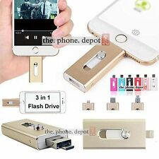 32GB 64GB USB i Flash Drive Disk OTG Memory Stick For iPhone 5S 6 iPad Android