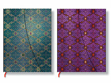 Paperblanks French Ornate Bleu/Violet Notebooks in Ultra/Midi Ruled