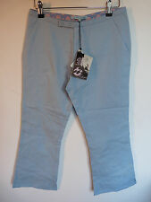 BILLABONG GIRL LIGHT BLUE CROPPED TROUSERS   £39.99  BNWT   VARIOUS SIZES