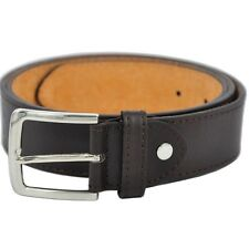 BNWT Brown Leather 4cm Wide Men's BOSS Jeans Belt RRP $39.95 SALE 60% OFF