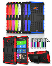 Sony Xperia XA / F3111 Shockproof Tough Strong Case  Stand & Ret Pen