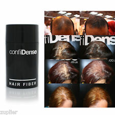 INSTANTLY THICKER confiDense Hair Fibres Building Thickening Hair Loss Concealer