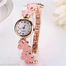 Gifts for Girlfriend Flower Leather Girls Watches For Girls Ladies Watches Kids
