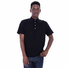American Apparel Fine Jersey Short Sleeve Leisure Shirt - Black