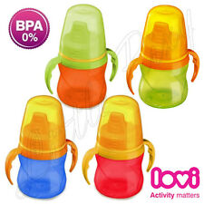 Lovi Baby Soft Spout Non-spill Cup Toddler Non Spill Beaker Boy Girl Mini 150ml
