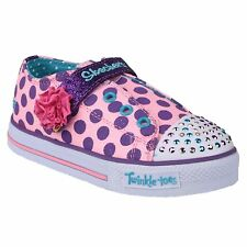 Skechers Twinkle Toes Shuffles Girls Shoes