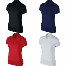 Nike Womens/Ladies Victory Short Sleeve Solid Polo Shirt