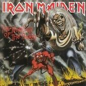 IRON MAIDEN - THE NUMBER OF THE BEAST (1982) - 1998 REMASTERED EMI ECD