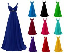 New Chiffon Prom Dress Evening Dress Wedding Party Dress Prom Ball Gown Dress