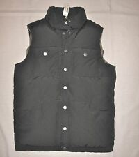 J.CREW BRAND NEW (NWT) MENS DOWN & FEATHER FILLED VEST/JACKET