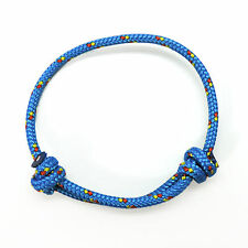 Bracciale Friendship Paracord - RRP ORIGINALE - Modello KNOT Blue