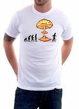 t-shirt Nuclear Evolution - To give happiness by tshirteria d86