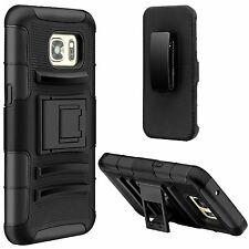 Heavy Duty Hybrid Dual Layer Combo Armor Case For Samsung Galaxy S7 and S7 EDGE