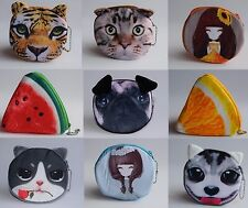 Girls Boys Kids Small Cute Soft Coin Purse