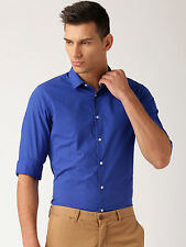 Popular Men's Casual Shirt Full Sleeves Cotton Spandex